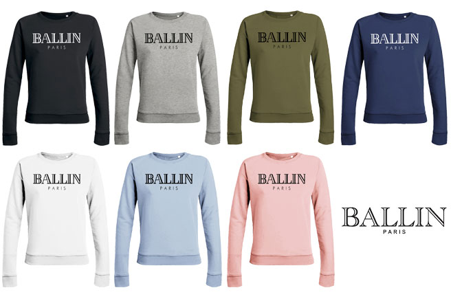 Hippe Truien Dames.Ballin Paris Dames Sweater