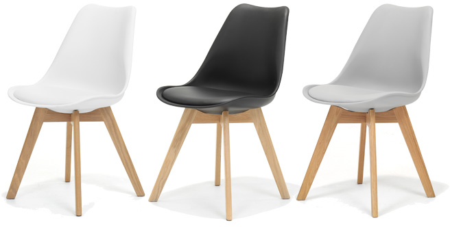 Moderne design stoelen nu heel voordelig - Moderne keukentafel ...