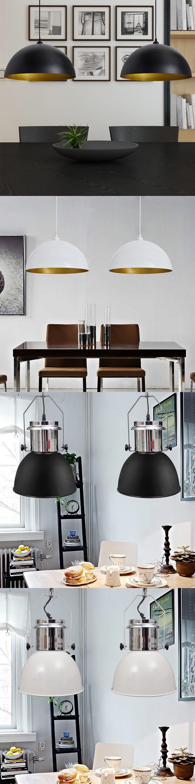 Moderne metalen hanglampen   set van 2 stuks nu al vanaf €37,95 ...