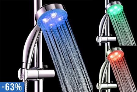 douchekop met led verlichting nu slechts 1495 keuze uit 2 types