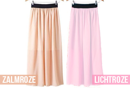 zomerse lange rok