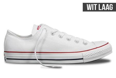 converse all stars dames wit laag