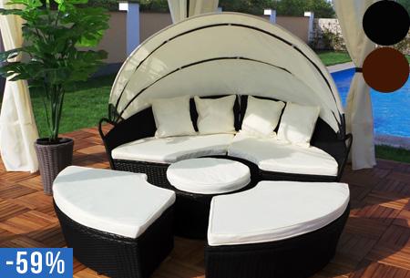 Aanbieding Loungebank Tuin : Loungebank tuin aanbieding afbeelding with loungebank tuin