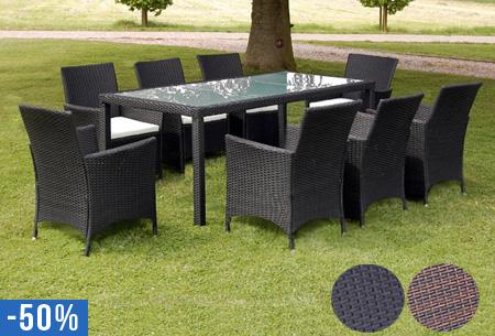 Betere Wicker volledige tuinset nu al vanaf €449,95 | Met 6 of 8 stoelen YI-97