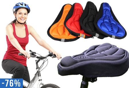 Gel zadelhoes | Comfortabel op de fiets