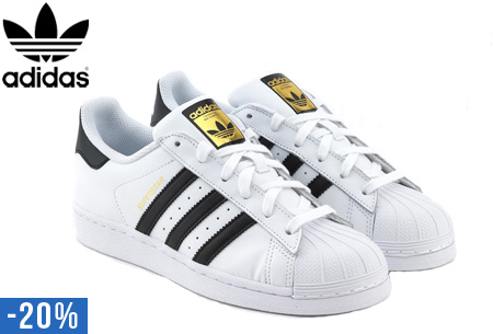 adidas superstar heren sale maat 43