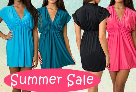 SUMMERSALE: Beach kaftan jurk t.w.v. €29,95 nu slechts €7,95!