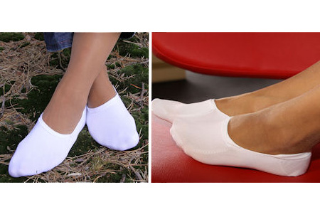 Set van 3 paar onzichtbare anti-slip bamboe sokken nu slechts €5,95 | Ideaal voor lage schoenen
