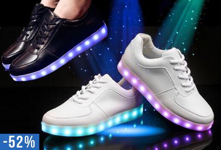 Led Licht Schoenen : Led schoenen nu u ac steel de show op elk feestje