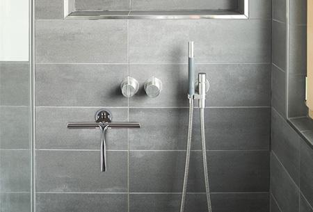 RVS raamwisser incl. ophangsysteem | Stijlvolle musthave voor in de badkamer