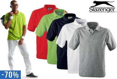 gedetailleerde afbeeldingen tinten van online winkel Slazenger heren polo's nu slechts €8,95! - Wit
