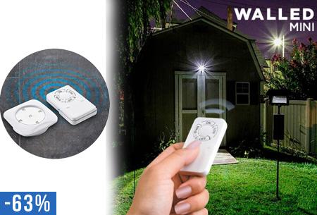 Lampen Op Afstandsbediening : 6 stuks walled mini led lampen met afstandsbediening nu slechts u20ac29 95!