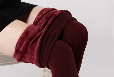 Fleece legging | Voor heerlijk warme benen deze winter