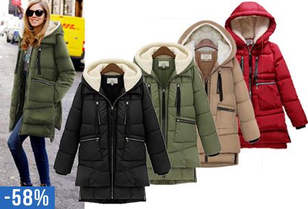 Hoody winterjas | Heerlijk gevoerde & comfortabele jas!