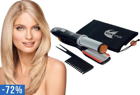 Salon Styler stijl-en krultang in één nu voor slechts €27,95 | Creëer steil, golvend of krullend haar
