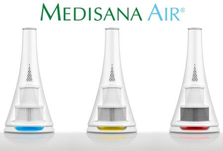 Medisana Air luchtreiniger nu slechts €47,95 | Verwijdert stof, pollen, geur en bacteriën