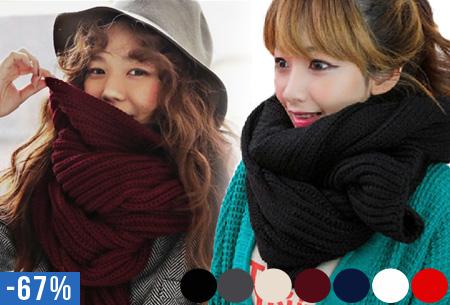 Gebreide sjaal nu slechts €9,95 | Keuze uit 7 kleuren