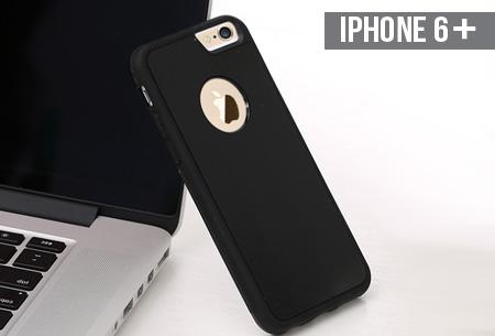 Nano sticky case nu €9,95 | Plak je telefoon op muren, ramen, deuren en andere gladde oppervlakken