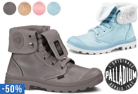 Leren Palladium schoenen nu vanaf €54,95