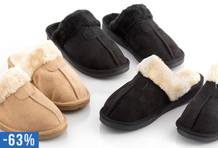 Relax furry sloffen nu slechts €14,95 | Heerlijk warm en comfortabel!