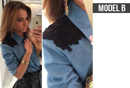Dames blouse nu voor slechts €13,95 | Keuze uit 4 verschillende blouses