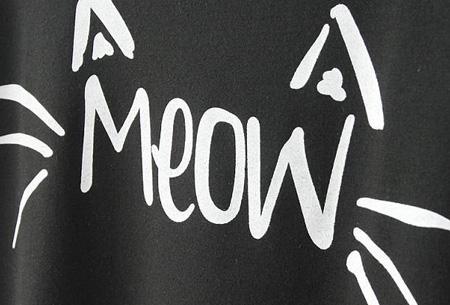 Meow trui met maar liefst 68% korting | Slechts €12,95