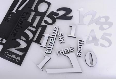 3D muurklok nu slechts €24,95 | Keuze uit 2 designs en meerdere kleuren