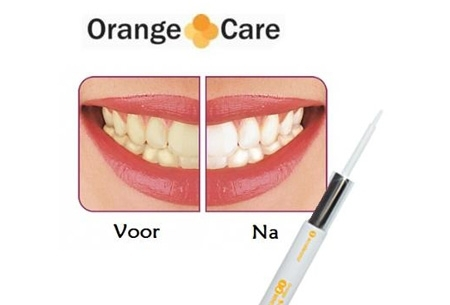 Whitening pennen t.w.v. €29,95 nu GRATIS - Voor stralend witte tanden in 14 dagen!