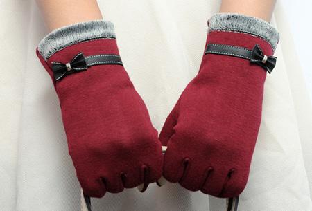 Chique Touchscreen handschoenen nu slechts €6,95 | Bedien je smartphone met handschoenen aan!