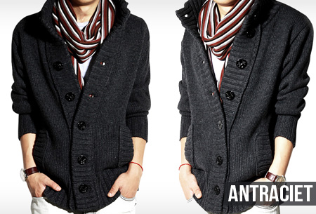 Wollen heren vest nu slechts €26,95 | Heerlijk warm vest voor de koude dagen!
