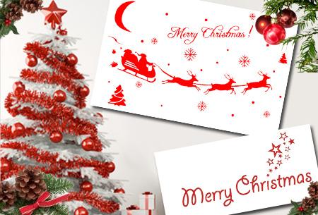 Kunstkerstboom 120 cm of 180 cm met of zonder LED verlichting nu al vanaf €19,95 | Met gratis kerst sticker!