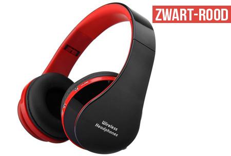 Opvouwbare Bluetooth koptelefoon nu slechts €24,95 | Geniet draadloos van je favoriete muziek!
