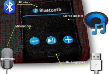 Beanie met draadloos ingebouwde Bluetooth koptelefoon nu slechts €14,95