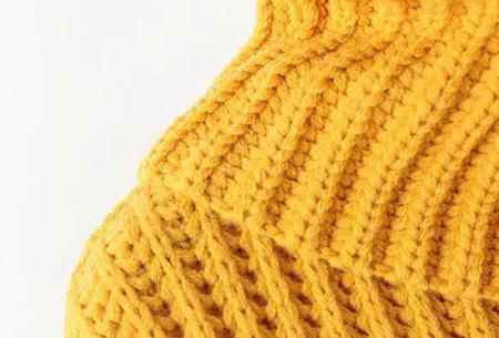 Gebreide coltrui nu €32,50 | Heerlijk warme trui van topkwaliteit!