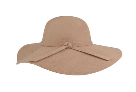 Stijlvolle hoed nu slechts €9,95 | Chique, trendy en fashionable! Beige