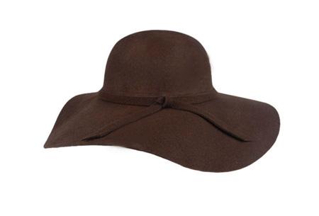 Stijlvolle hoed nu slechts €9,95 | Chique, trendy en fashionable! Bruin