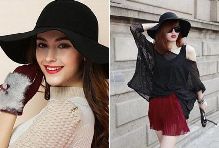 Stijlvolle hoed nu slechts €9,95 | Chique, trendy en fashionable!