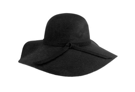 Stijlvolle hoed nu slechts €9,95 | Chique, trendy en fashionable! Zwart