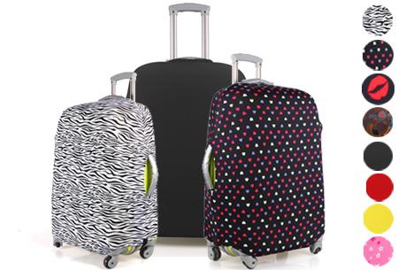 Kofferhoezen al vanaf €10,95 | Herken altijd en overal je koffer!