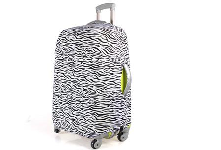 Kofferhoezen al vanaf €10,95 | Herken altijd en overal je koffer! #1 Zebra