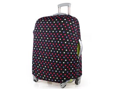 Kofferhoezen al vanaf €10,95 | Herken altijd en overal je koffer! #2 Hartjes