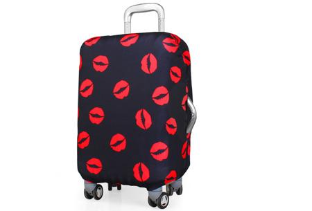 Kofferhoezen al vanaf €10,95 | Herken altijd en overal je koffer! #3 Lipjes