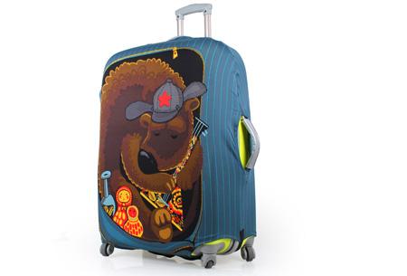 Kofferhoezen al vanaf €10,95 | Herken altijd en overal je koffer! #4 Beer