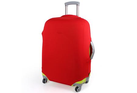 Kofferhoezen al vanaf €10,95 | Herken altijd en overal je koffer! #6 Rood