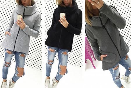 Dames vest met col en fleece binnenzijde nu slechts €18,95 | Comfortabel & fashionable!