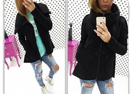 Dames vest met col en fleece binnenzijde nu slechts €18,95 | Comfortabel & fashionable! zwart