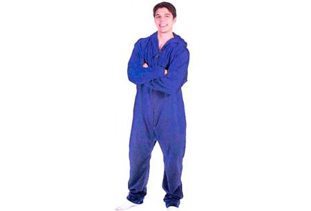 Heerlijke onesie nu voor slechts €14,95 | Zacht & comfortabel Blauw