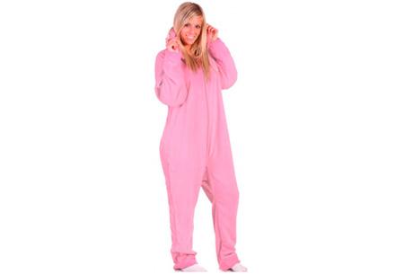 Heerlijke onesie nu voor slechts €14,95 | Zacht & comfortabel Roze
