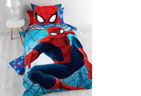 Disney dekbedovertrek nu slechts €28,95 | keuze uit 9 verschillende uitvoeringen Spider Man