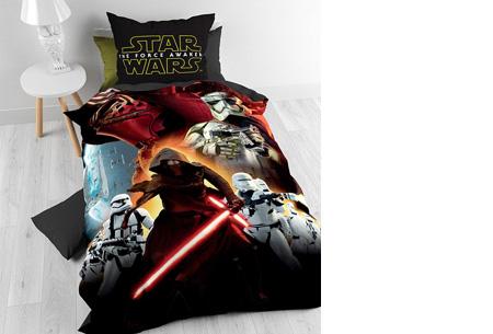 Disney dekbedovertrek nu slechts €28,95 | keuze uit 9 verschillende uitvoeringen Star Wars 7 Total